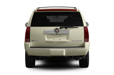 Rear Profile  2010 Cadillac Escalade Hybrid