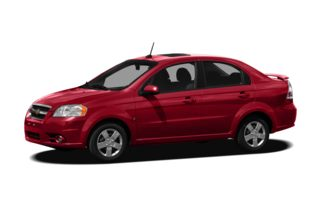 3/4 Front Glamour 2010 Chevrolet Aveo