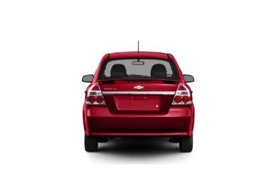Surround Rear Profile 2010 Chevrolet Aveo