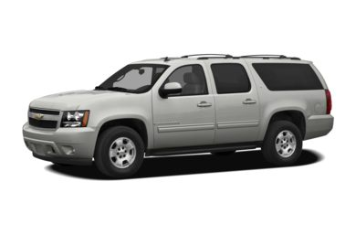 3/4 Front Glamour 2010 Chevrolet Suburban 1500