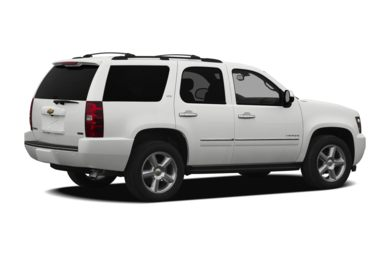 3/4 Rear Glamour  2010 Chevrolet Tahoe