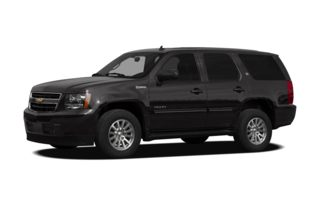 3/4 Front Glamour 2010 Chevrolet Tahoe Hybrid