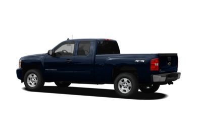 Surround 3/4 Rear - Drivers Side  2010 Chevrolet Silverado 1500