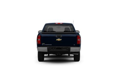 Surround Rear Profile 2010 Chevrolet Silverado 1500