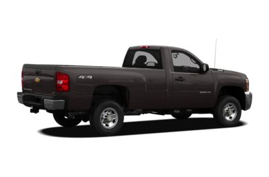 3/4 Rear Glamour  2010 Chevrolet Silverado 3500HD