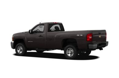 Surround 3/4 Rear - Drivers Side  2010 Chevrolet Silverado 2500HD