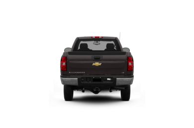 Surround Rear Profile 2010 Chevrolet Silverado 2500HD