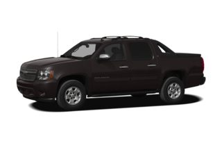 3/4 Front Glamour 2010 Chevrolet Avalanche