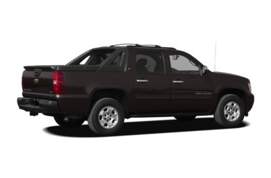 3/4 Rear Glamour  2010 Chevrolet Avalanche