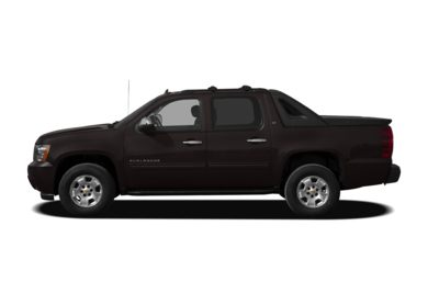 90 Degree Profile 2010 Chevrolet Avalanche