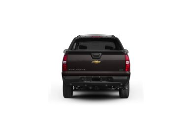Surround Rear Profile 2010 Chevrolet Avalanche