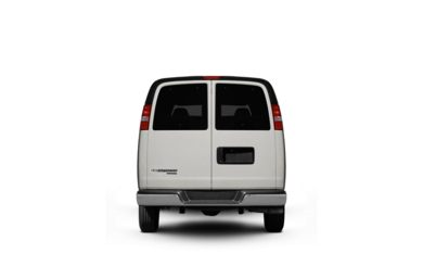 Surround Rear Profile 2010 Chevrolet Express 2500