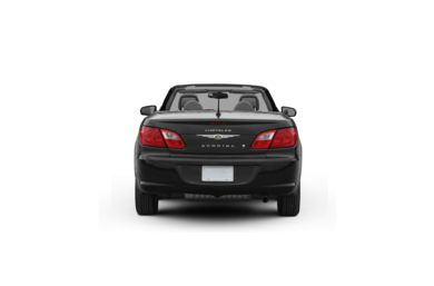 Surround Rear Profile 2010 Chrysler Sebring