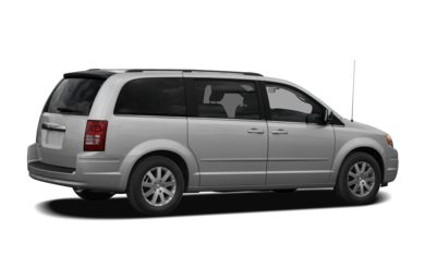 3/4 Rear Glamour  2010 Chrysler Town & Country