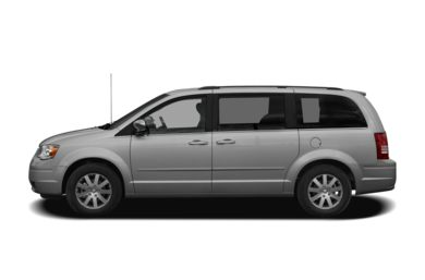 90 Degree Profile 2010 Chrysler Town & Country