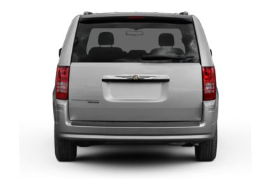 Rear Profile  2010 Chrysler Town & Country