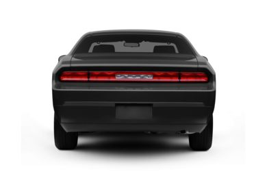 Rear Profile  2010 Dodge Challenger