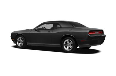 Surround 3/4 Rear - Drivers Side  2010 Dodge Challenger