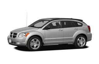 3/4 Front Glamour 2010 Dodge Caliber