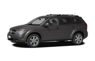 3/4 Front Glamour 2010 Dodge Journey