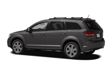 Surround 3/4 Rear - Drivers Side  2010 Dodge Journey
