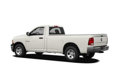 Surround 3/4 Rear - Drivers Side  2010 Dodge Ram 1500