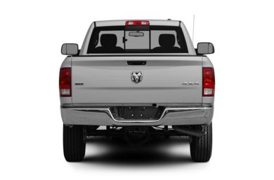 Rear Profile  2010 Dodge Ram 2500