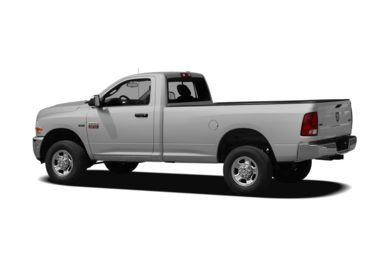 Surround 3/4 Rear - Drivers Side  2010 Dodge Ram 2500