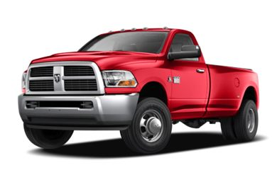 3/4 Front Glamour 2010 Dodge Ram 3500