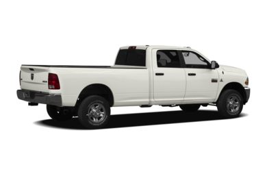 3/4 Rear Glamour  2010 Dodge Ram 3500