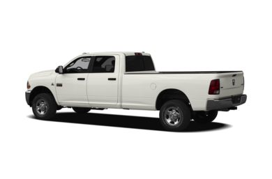 Surround 3/4 Rear - Drivers Side  2010 Dodge Ram 3500