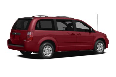 3/4 Rear Glamour  2010 Dodge Grand Caravan