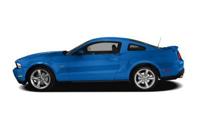 90 Degree Profile 2010 Ford Mustang