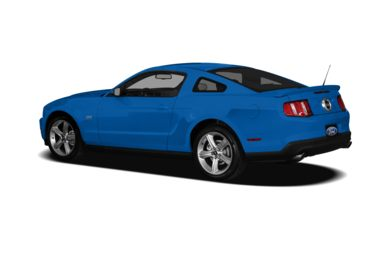 Surround 3/4 Rear - Drivers Side  2010 Ford Mustang