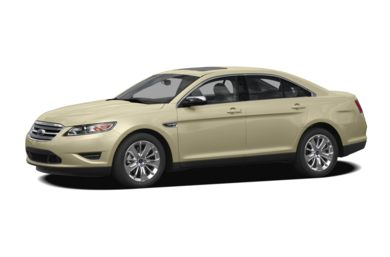 3/4 Front Glamour 2010 Ford Taurus