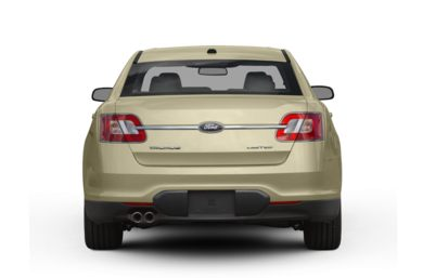 Rear Profile  2010 Ford Taurus