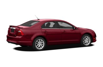 3/4 Rear Glamour  2010 Ford Fusion