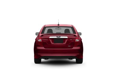 Surround Rear Profile 2010 Ford Fusion