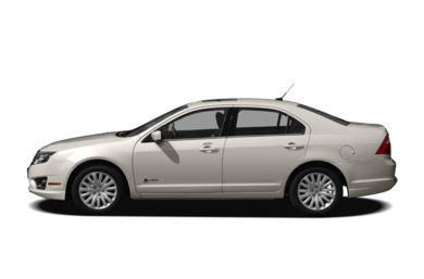 90 Degree Profile 2010 Ford Fusion Hybrid