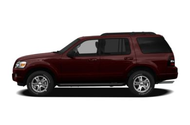 90 Degree Profile 2010 Ford Explorer