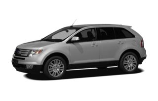 3/4 Front Glamour 2010 Ford Edge