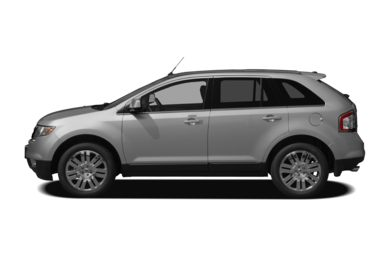 90 Degree Profile 2010 Ford Edge