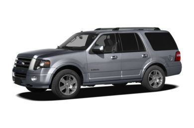 3/4 Front Glamour 2010 Ford Expedition