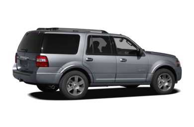 3/4 Rear Glamour  2010 Ford Expedition