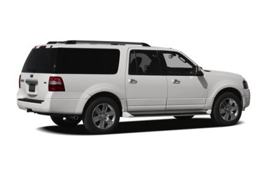 3/4 Rear Glamour  2010 Ford Expedition EL