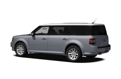 Surround 3/4 Rear - Drivers Side  2010 Ford Flex