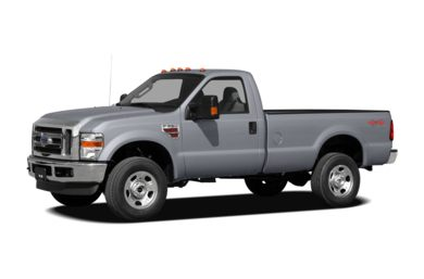 3/4 Front Glamour 2010 Ford F-250