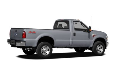 3/4 Rear Glamour  2010 Ford F-250