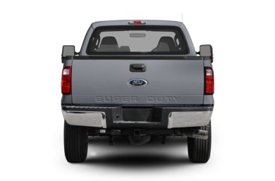 Rear Profile  2010 Ford F-250