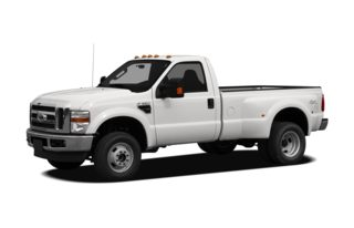 3/4 Front Glamour 2010 Ford F-350